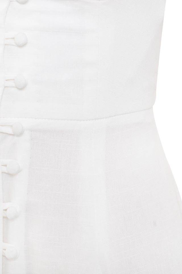 white ellery dress