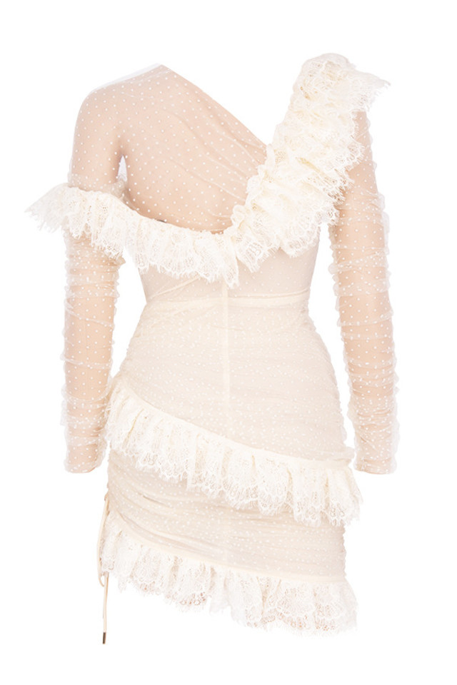 sorrel dress in ivory