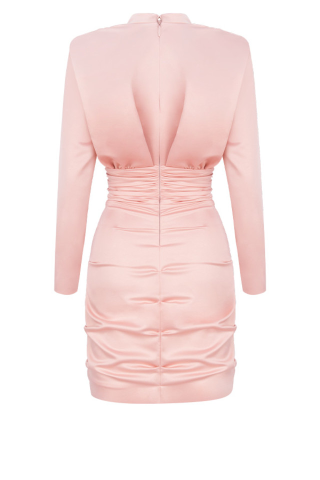 samia dress in pink