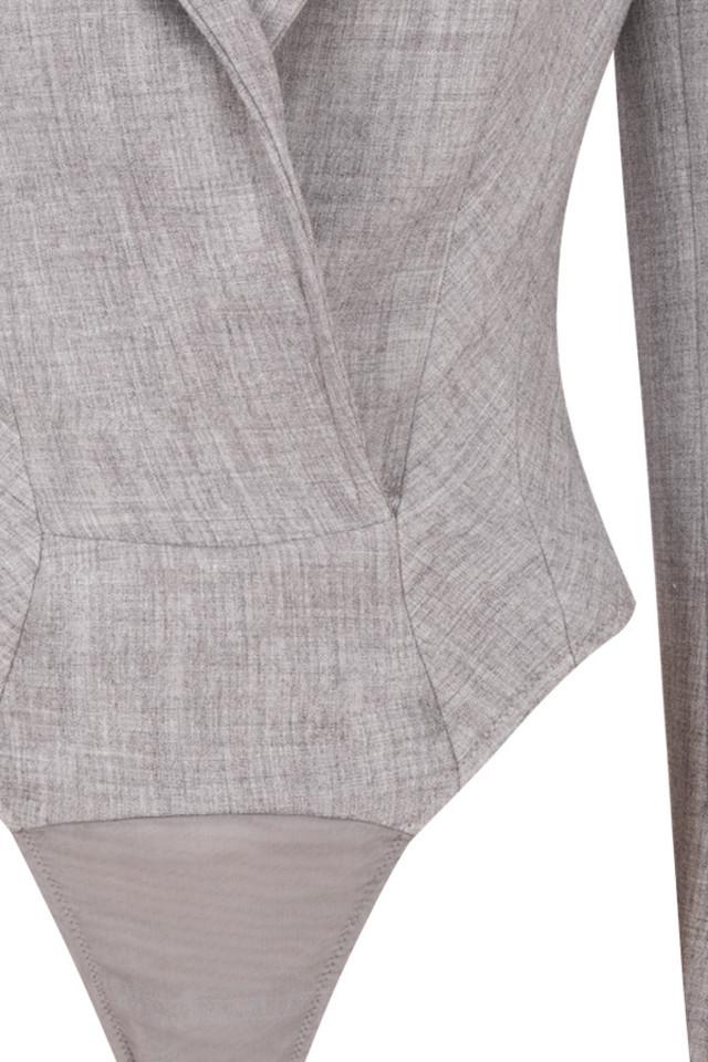 grey brisa bodysuit