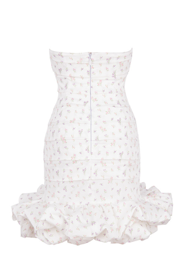 serafina dress in white