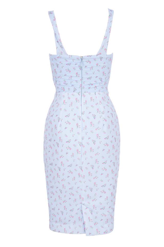bellina dress in blue