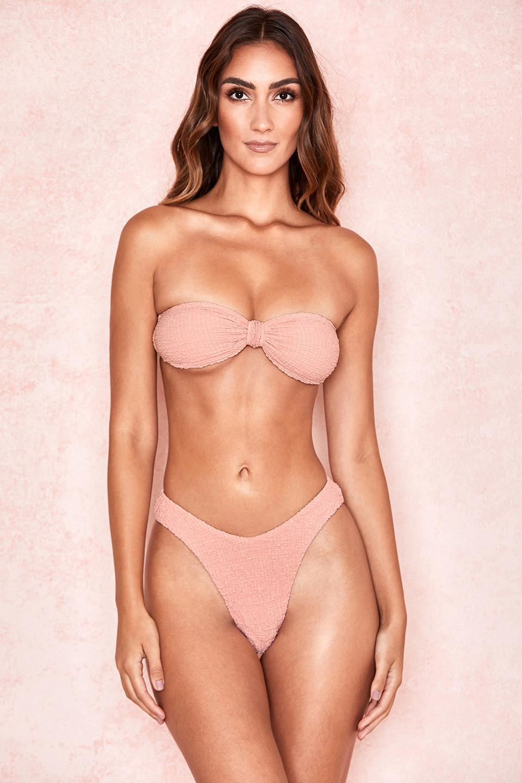 Antillia Blush Bandeau Bikini