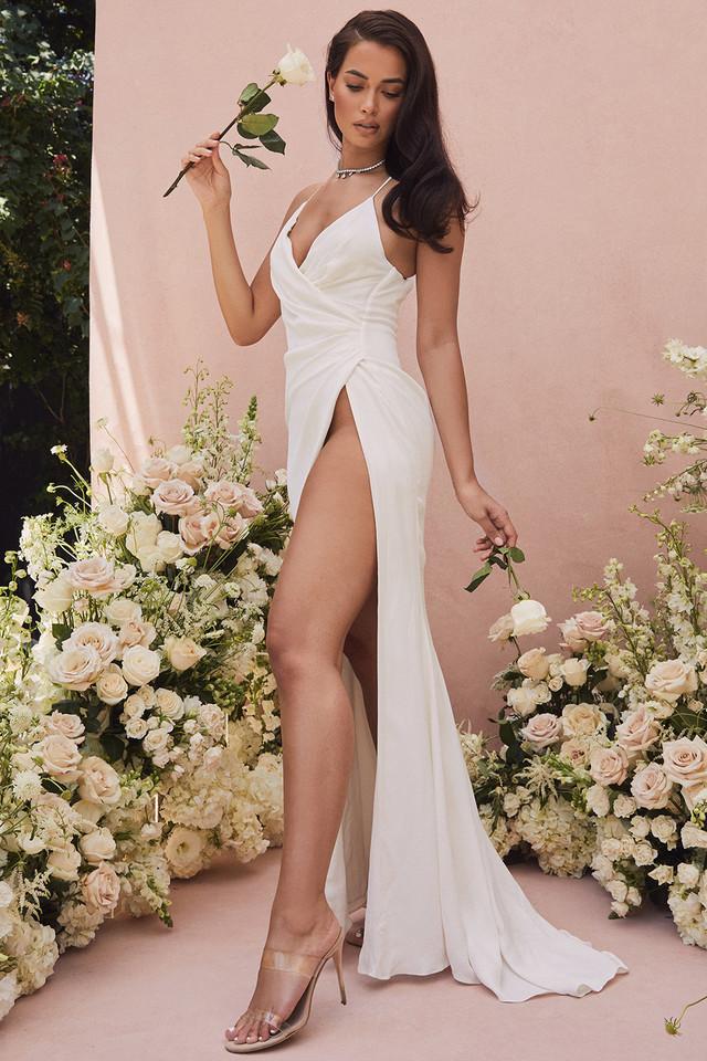 Gigi Ivory Strappy Bridal Gown