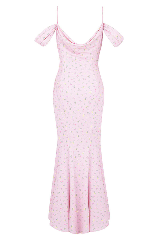 pink elodie maxi