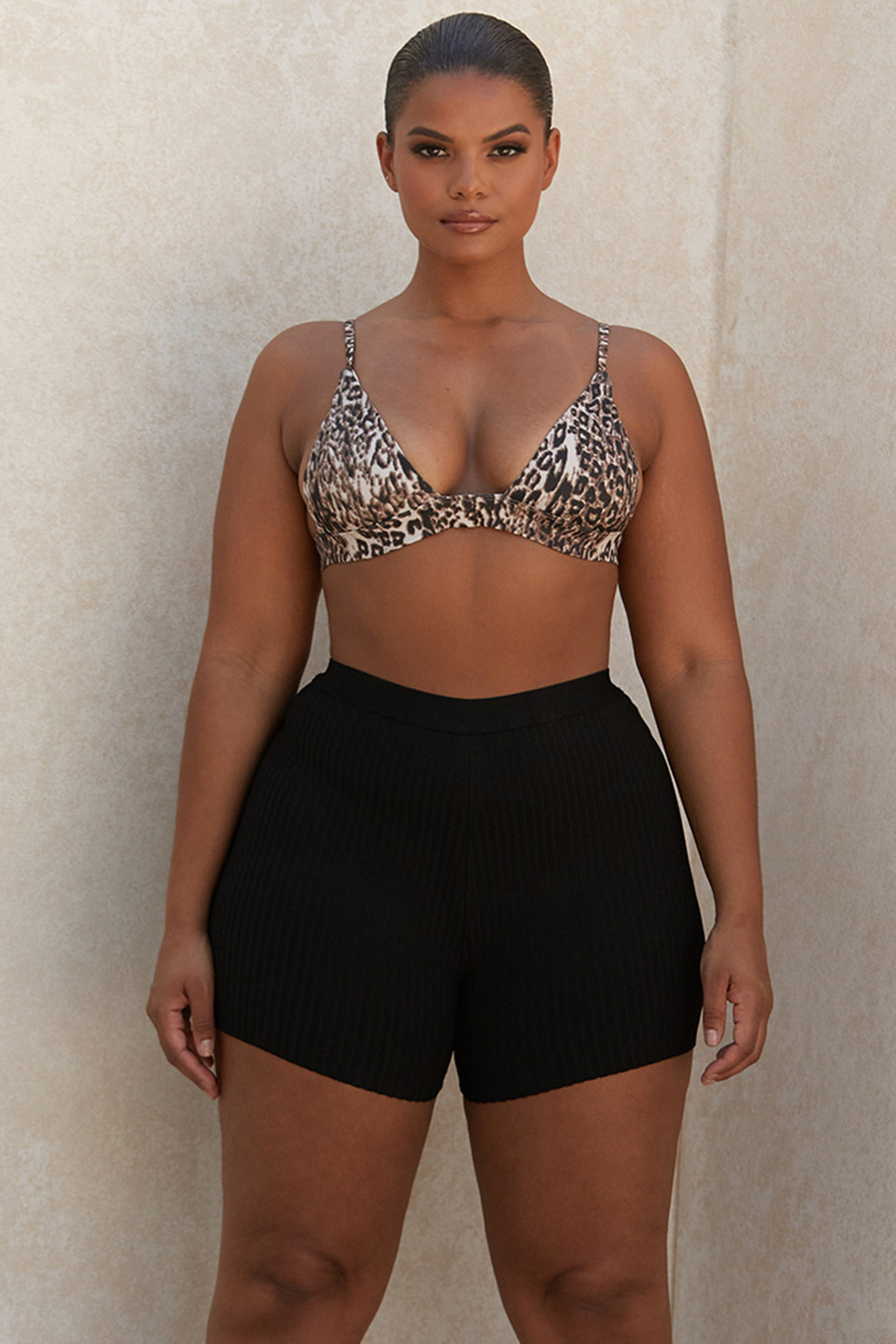 Eden Black Bandage Shorts
