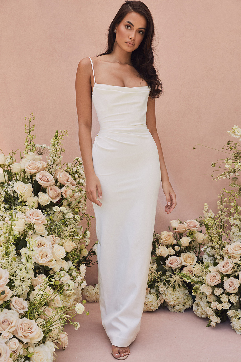Margaux Ivory Draped Bridal Gown