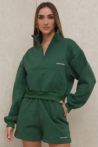 Auden Green Jersey Track Shorts