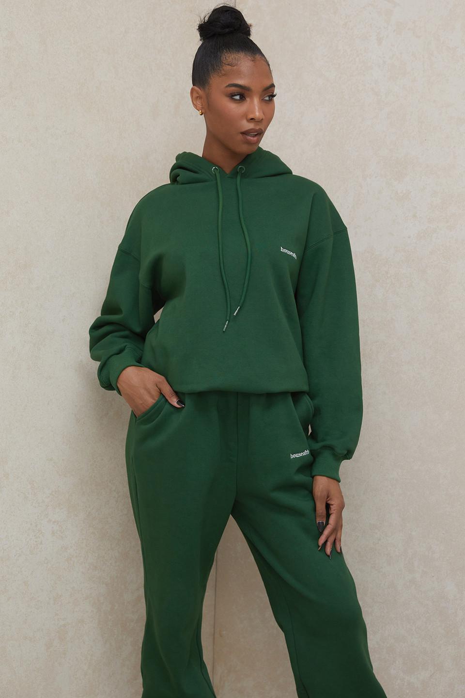 Halo Green Oversized Hoodie
