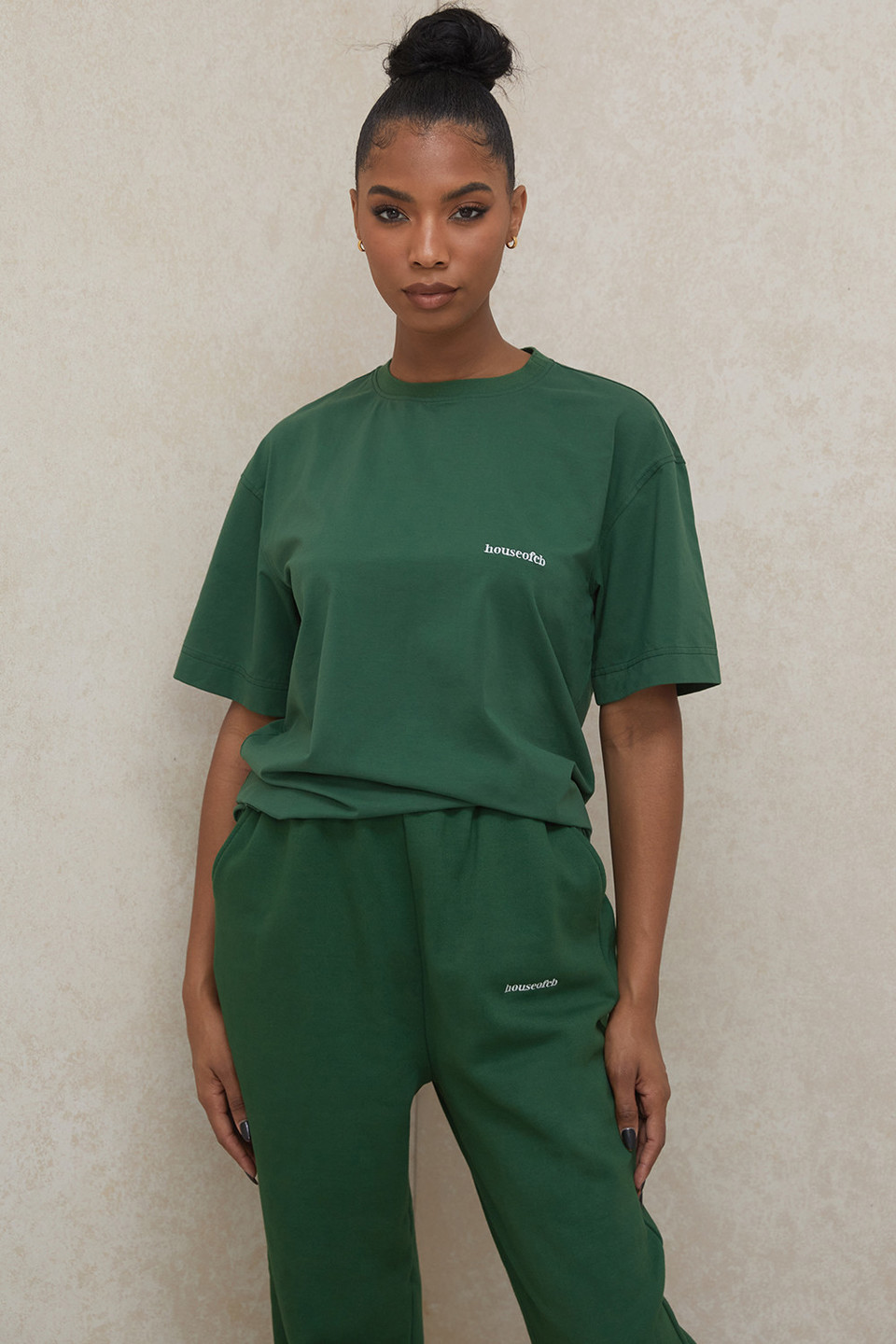 Quinn Green Oversized Cotton Jersey T Shirt