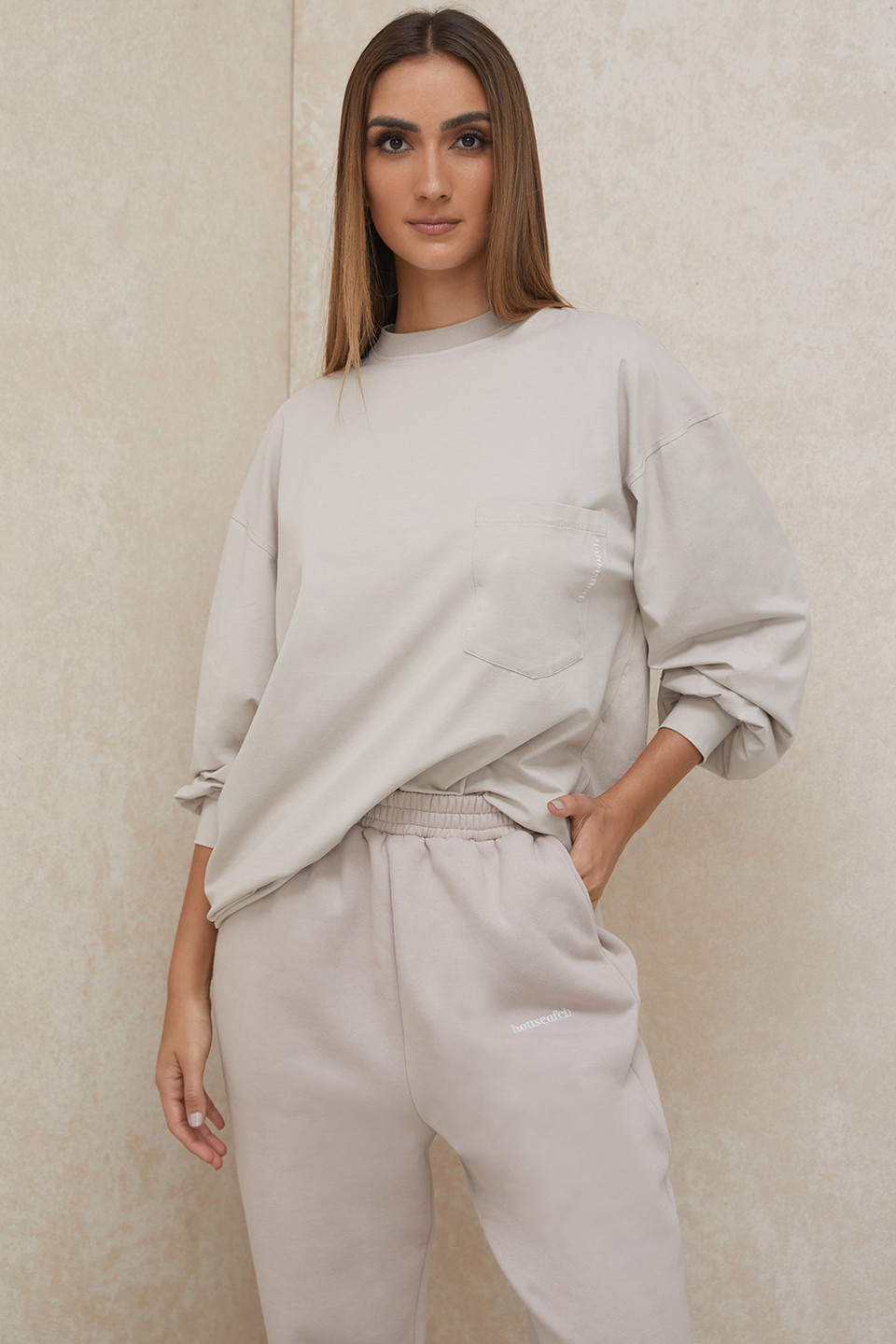 Strata Stone Long Sleeve Top