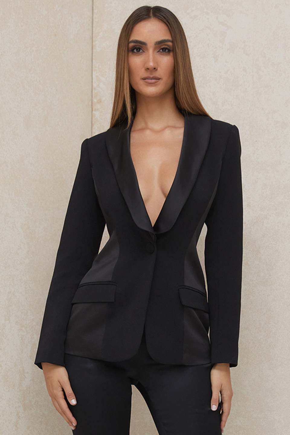 Charlotte Black Tailored Blazer