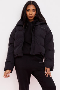 Hero Ink Oversized C Shape Puffa Jacket