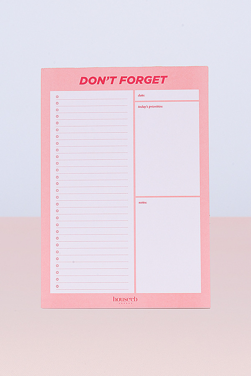 To do List Planner Sheets