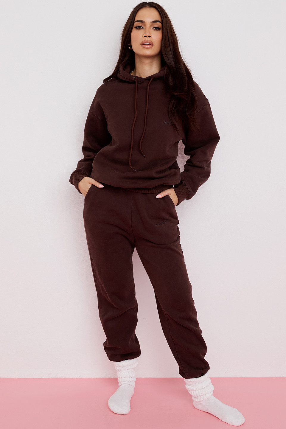Sky Chocolate Fleece Back Jogging Trouser