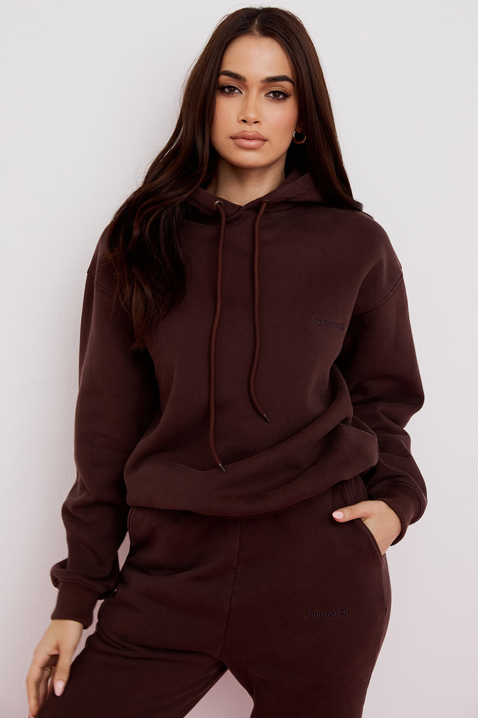 Halo Chocolate Oversized Hoodie